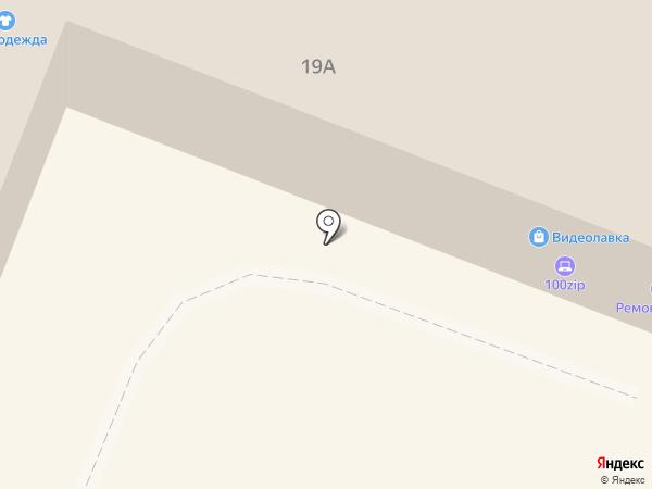 100zip на карте Гатчины