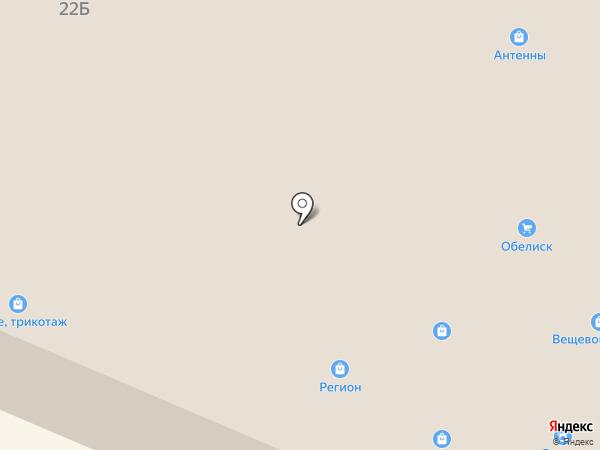 Нина на карте Гатчины