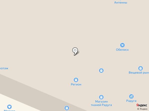 Ванда на карте Гатчины