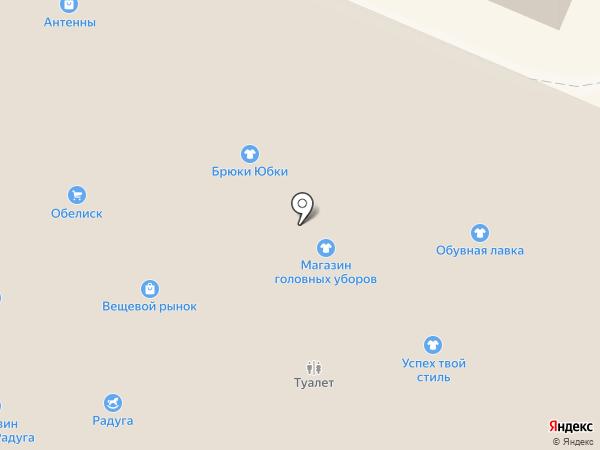 Магазин мужской одежды и обуви на карте Гатчины