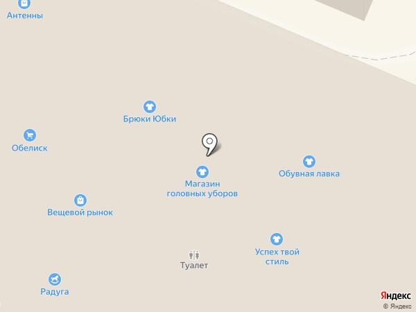 Для милых Дам на карте Гатчины