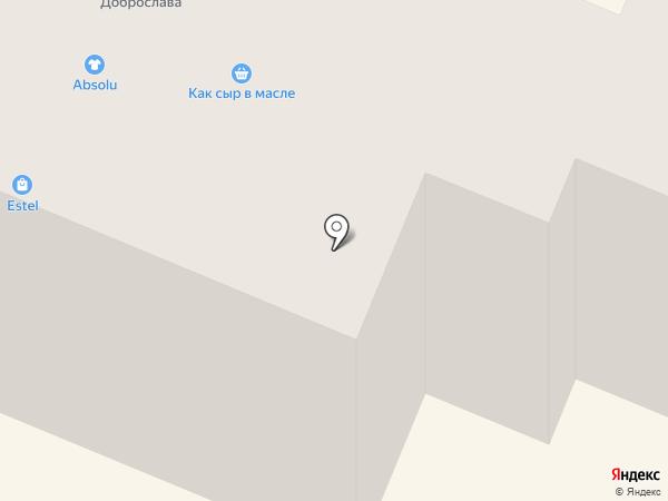 Визаж на карте Гатчины