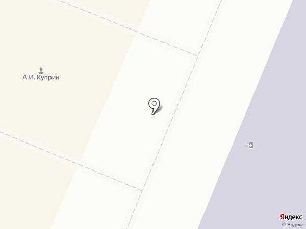 Центральная городская библиотека им. А. И. Куприна на карте Гатчины