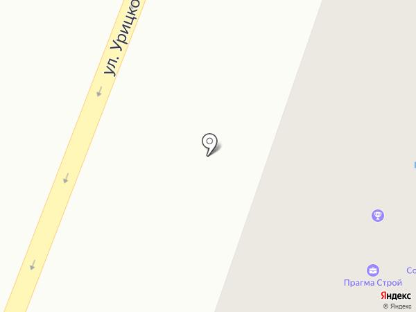 ТЭК-строй на карте Гатчины