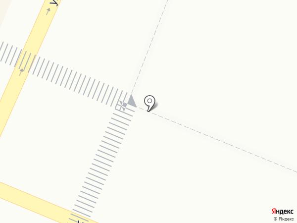 Киоск по ремонту часов на карте Гатчины