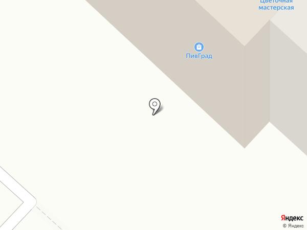Рыбин гуд на карте Гатчины