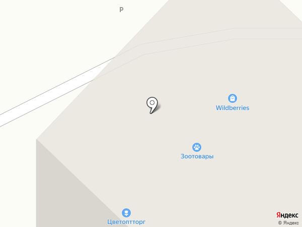 ЦВЕТОПТТОРГ на карте Гатчины