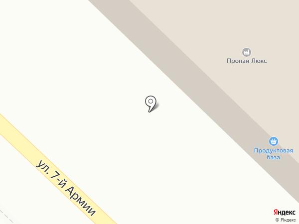 БАРС на карте Гатчины
