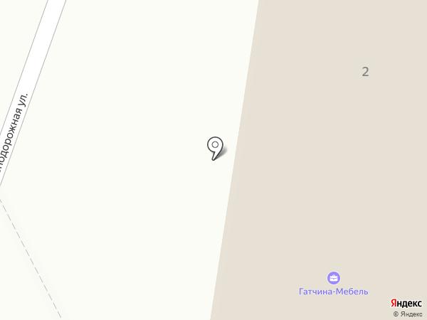 Прайм на карте Гатчины