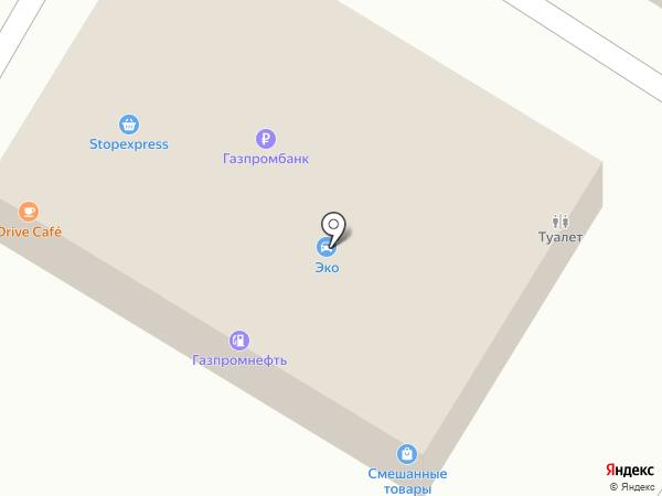 ЭКО на карте Гатчины