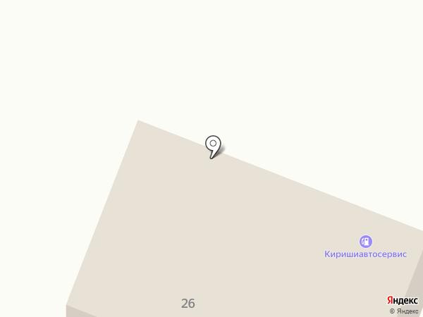 АЗС Киришиавтосервис на карте Сертолово