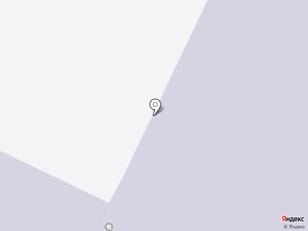 Веревская средняя общеобразовательная школа на карте Малого Верево