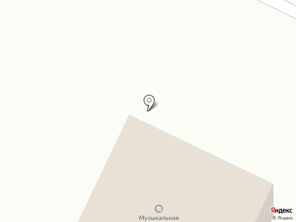 Веревская сельская библиотека на карте Малого Верево