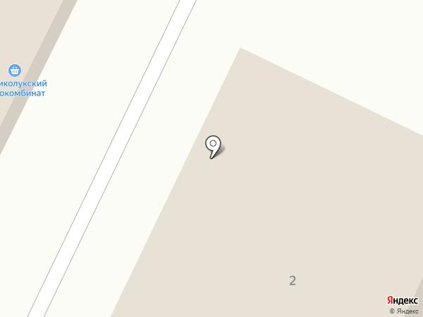 Продуктовый магазин на карте Малого Верево