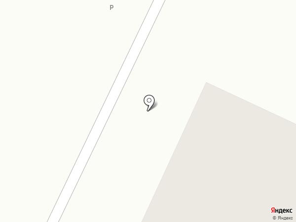 Веревская амбулатория на карте Малого Верево