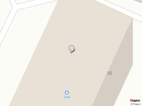 Строй-Мир на карте Малого Верево