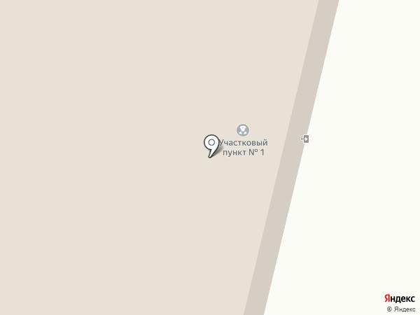 Участковый пункт полиции на карте Нового Света