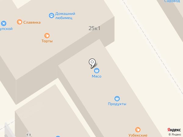 Магазин мяса на карте Сертолово
