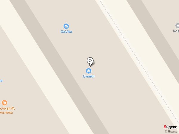 Оккервиль на карте Сертолово