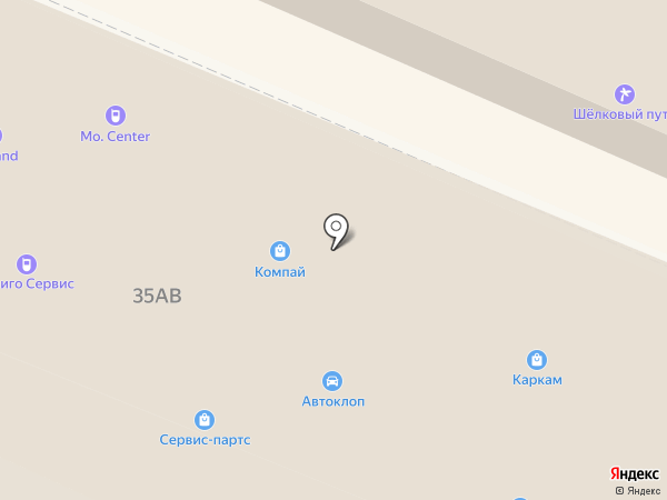 ТехноКомп на карте Санкт-Петербурга