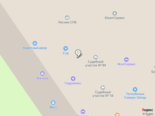 Бетонные решения ЛО на карте Сертолово