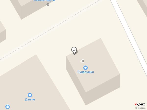 Сударушка на карте Сертолово