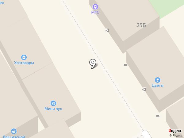 Цветочный магазин на карте Сертолово