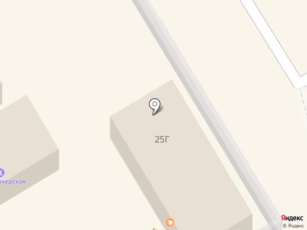 Банька на карте Сертолово