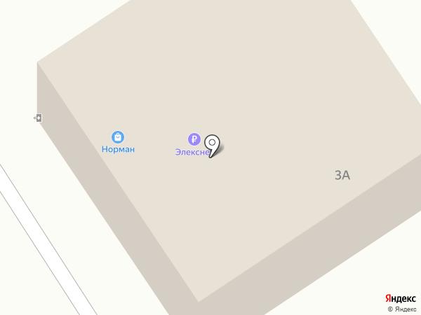 Норман на карте Сертолово