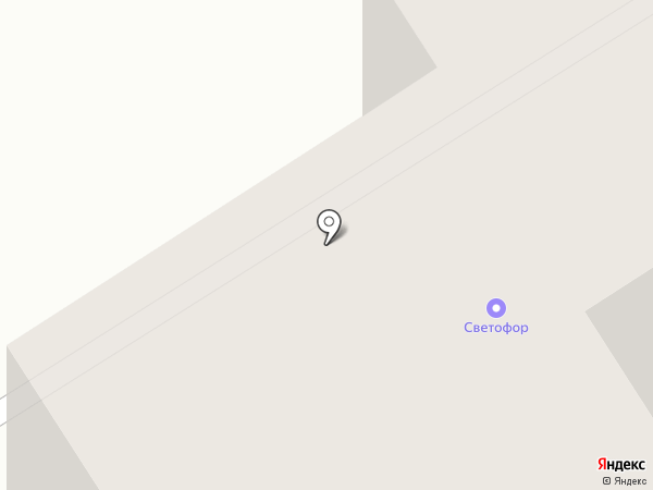 Светофор на карте Сертолово