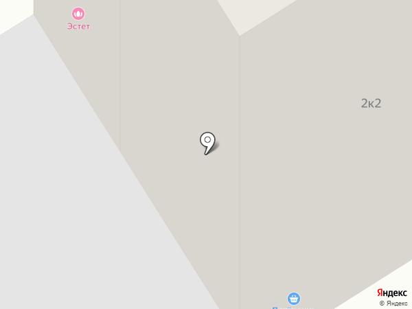 Пятёрочка на карте Сертолово