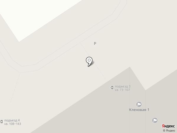 Кленовая - 1, ТСН на карте Сертолово