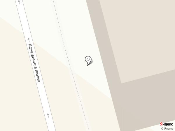 Государственный научно-исследовательский навигационно-гидрографический институт на карте Санкт-Петербурга