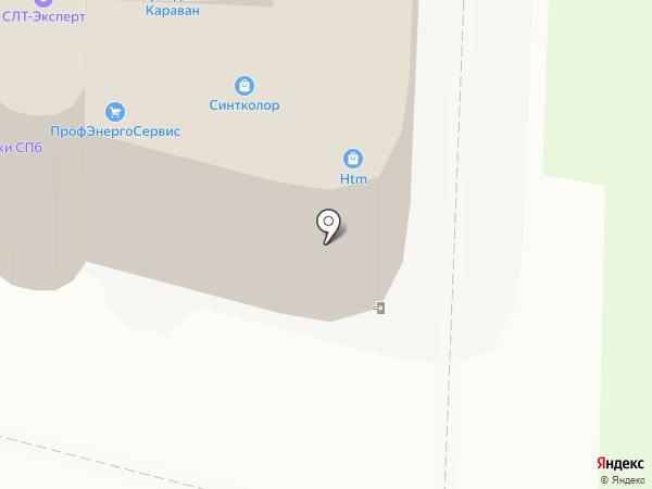 ТехноИнжиниринг на карте Санкт-Петербурга