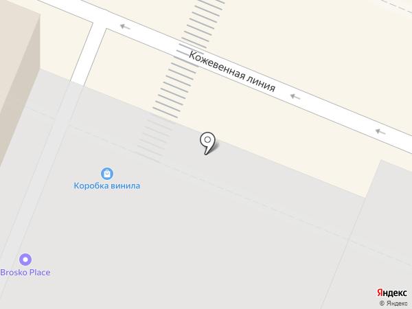 Кофулсо Северо-Запад на карте Санкт-Петербурга