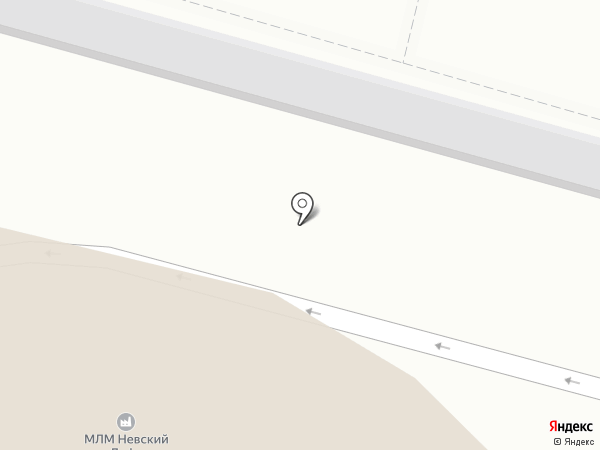 Ирбис на карте Санкт-Петербурга