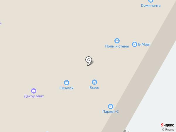 Магазин сантехники и дверной фурнитуры на карте Санкт-Петербурга