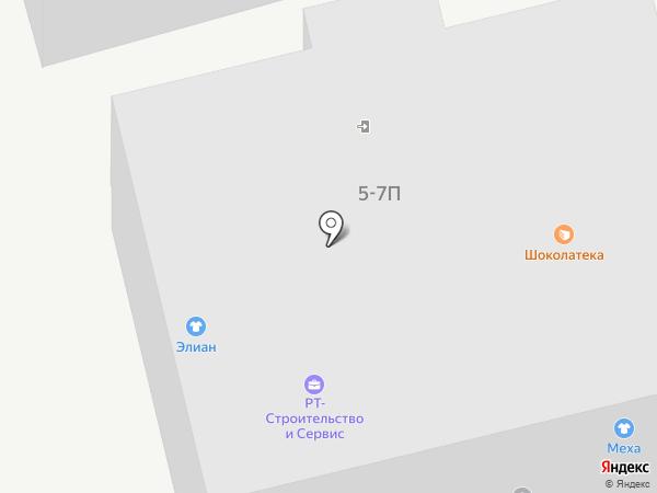 Мелиса на карте Санкт-Петербурга
