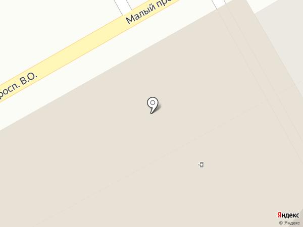 Навигатор на карте Санкт-Петербурга