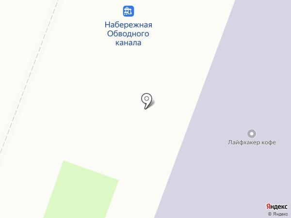 Бианка на карте Санкт-Петербурга