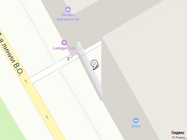 Подростково-молодежный центр Василеостровского района на карте Санкт-Петербурга