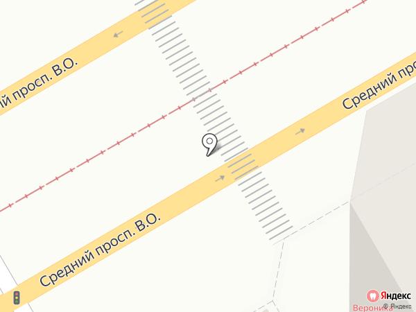 Вероника на карте Санкт-Петербурга