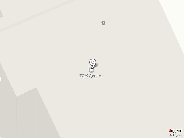 Динамо 22, ТСЖ на карте Санкт-Петербурга