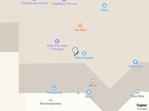 ModaNew на карте Санкт-Петербурга