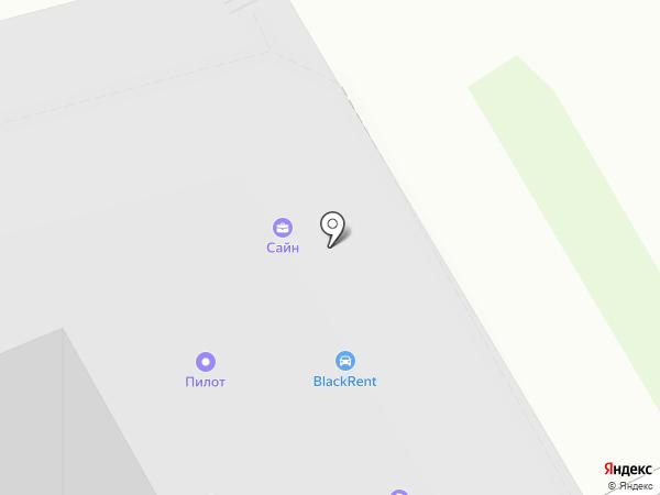 Неваинвест на карте Санкт-Петербурга