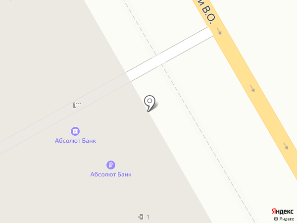 Балтинвестбанк, ПАО на карте Санкт-Петербурга