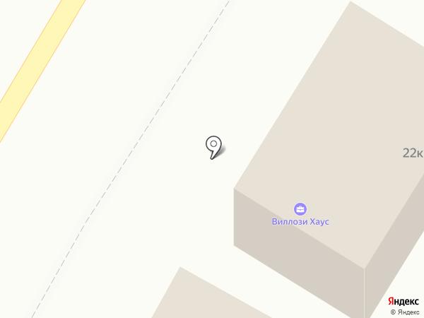 ВИЛЛОЗИ ХАУС на карте Санкт-Петербурга