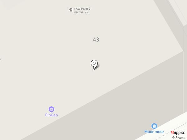 ЭНЭС на карте Санкт-Петербурга
