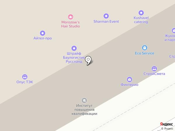 Строй-Консалтинг, ЗАО на карте Санкт-Петербурга