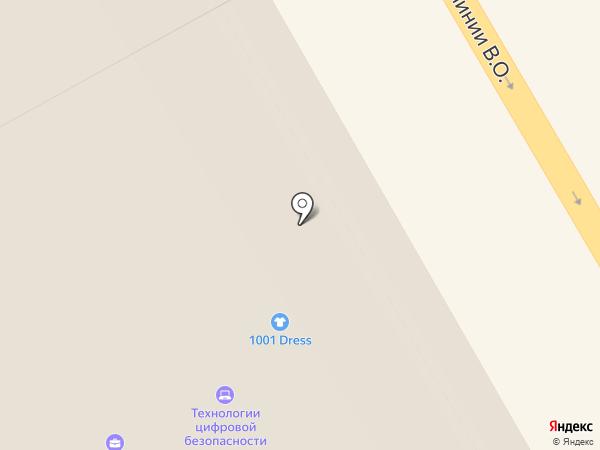 ЛК Марконова на карте Санкт-Петербурга